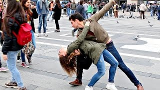Repeat youtube video Dancing With Italian Girls!