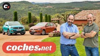 Volkswagen T-CROSS SUV vs VW POLO | Prueba Comparativa / Test / Review en español | coches.net