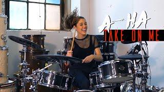 Take On Me - A-Ha | DRUM COVER Domino Santantonio