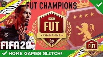 MEHR SPIELE IN FUT CHAMPIONS GEWINNEN! W/ HOME GAMES GLITCH! [ERKLÄRUNG] | GERMAN/DEUTSCH | FIFA 20