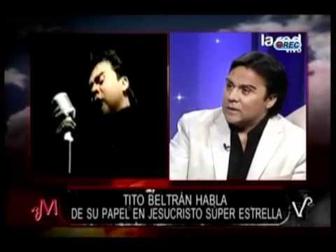 """Tito Beltrán y sus inicios: """"Me la jugué y sin saber nada de lírica viajé a Suecia"""""""