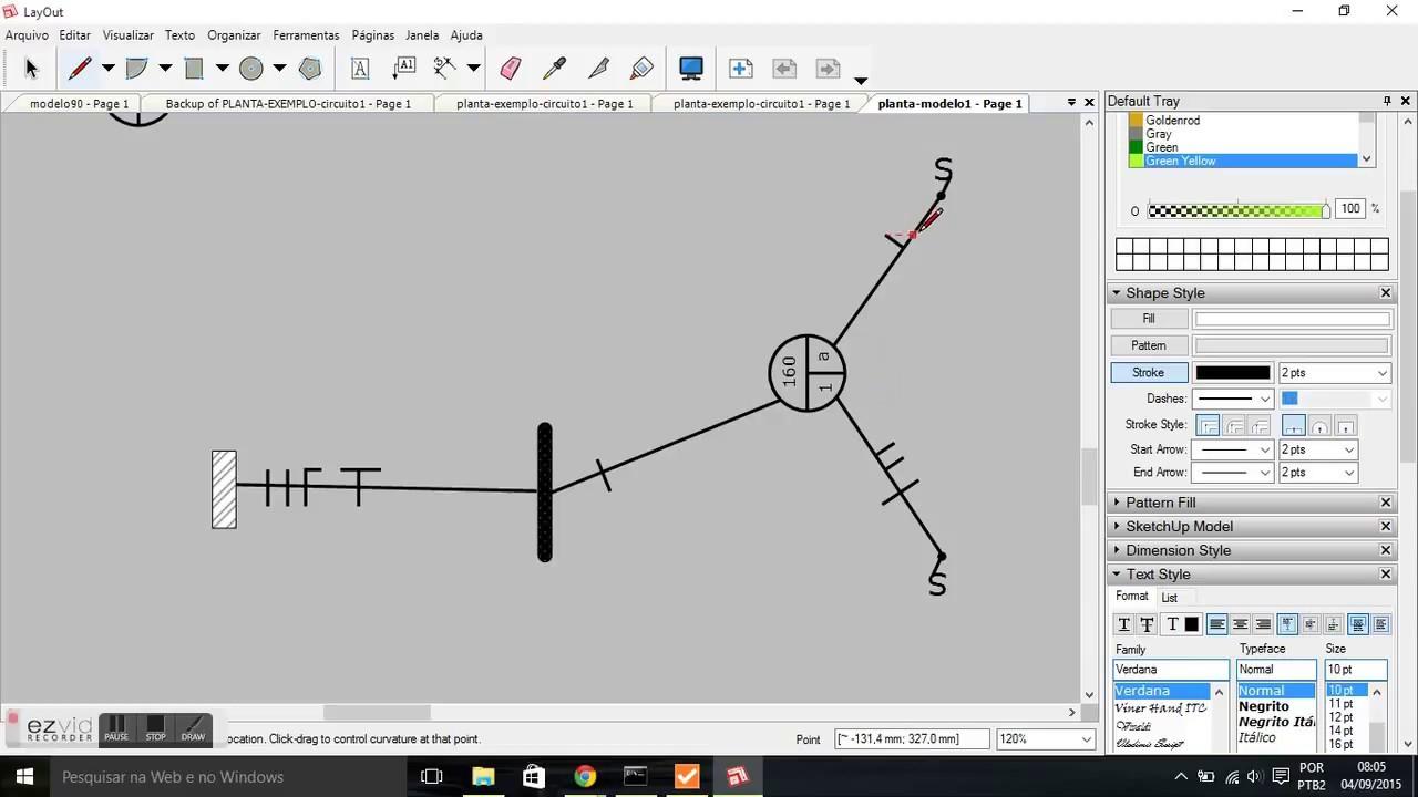 Circuito Unifilar : Diagrama unifilar interruptor paralelo youtube