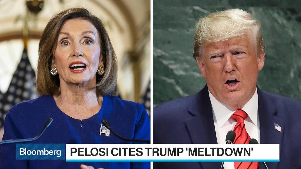 Trump Pelosi Cite Meltdown As White House Meeting Breaks Down