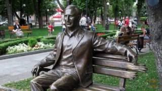 Моя Украина -Кременчуг, сквер О. Бабаева,  путешествия по стране, туризм, архитектура, искусство.