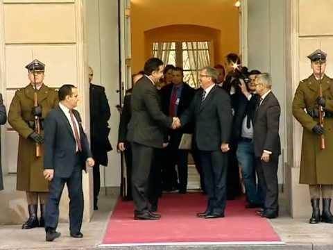 შეხვედრა პოლონეთის პრეზიდენტთან