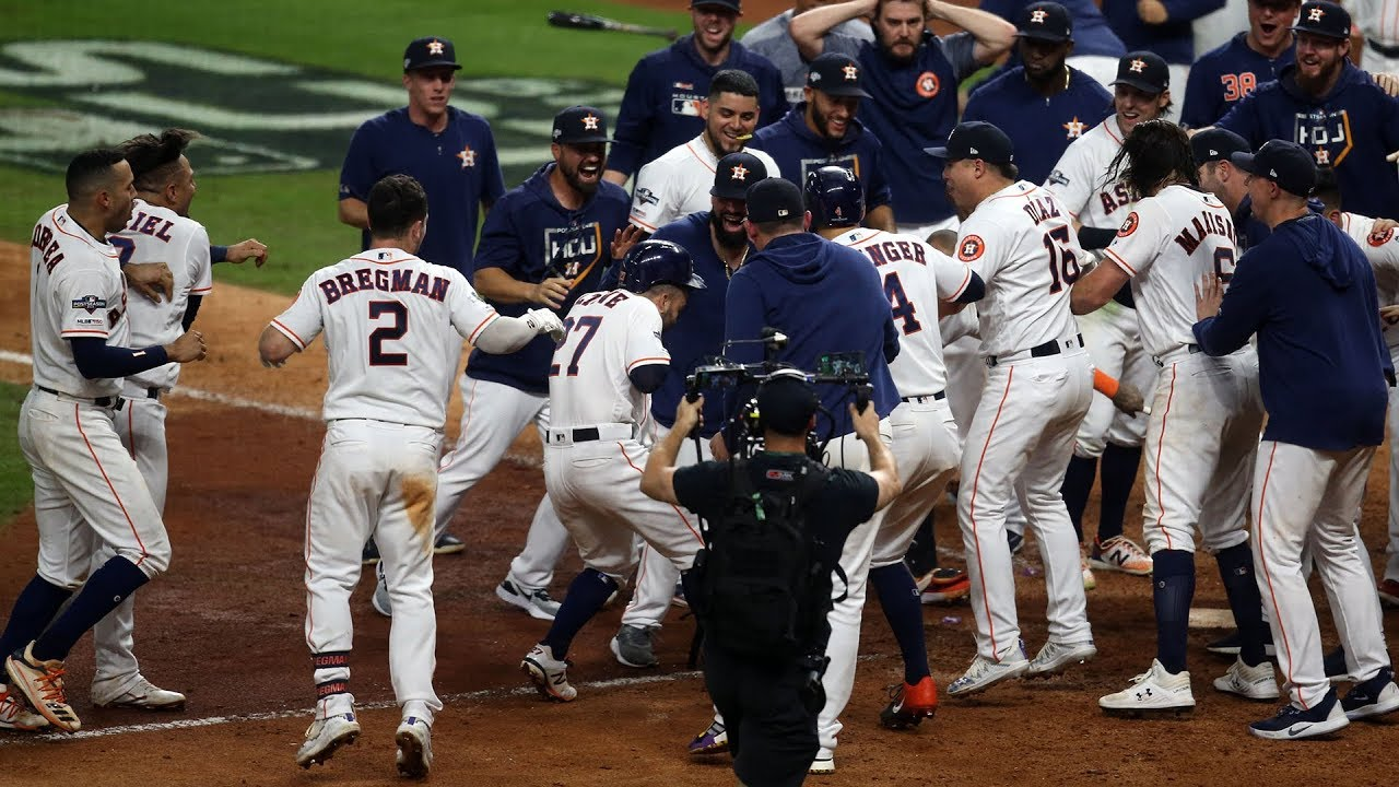 Astros Game >> Alcs Game 6 Highlights Yankees Vs Astros Stadium