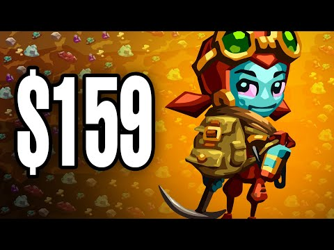 I Mined As Deep As Possible To Find The Valuable Gems in SteamWorld Dig 2 |