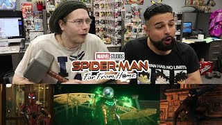 IS MYSTERIO A HERO? REACTING TO SPIDER-MAN: FAR FROM HOME Official Trailer 2 FAR FROM HOME REACTION