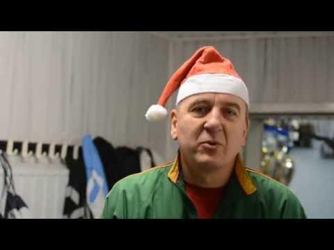 Linksmas Kalėdinis sveikinimas Sūduvos merginoms (+nepavykę kadrai)