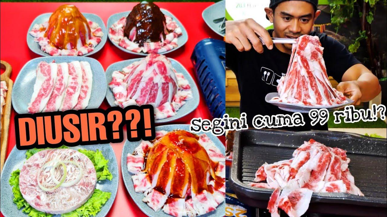 BUSET!! BUKA PUASA BANGKRUTIN RESTORAN ALL YOU CAN EAT KOREAN BBQ cuma 99 ribu!
