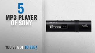 Top 10 Mp3 Player Of Sony [2018]: Sony NWZ-B183F Walkman 4GB Digital Music Player (Black)