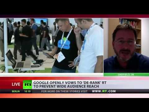 'Google censorship of RT takes attention away from Middle East & Syria' – analyst