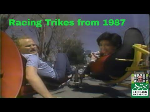 Local TV Looks at Recumbent Trikes in 1987