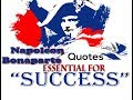 Inspiring Quotes of Napoleon Bonaparte  - to help you get through TOUGH times