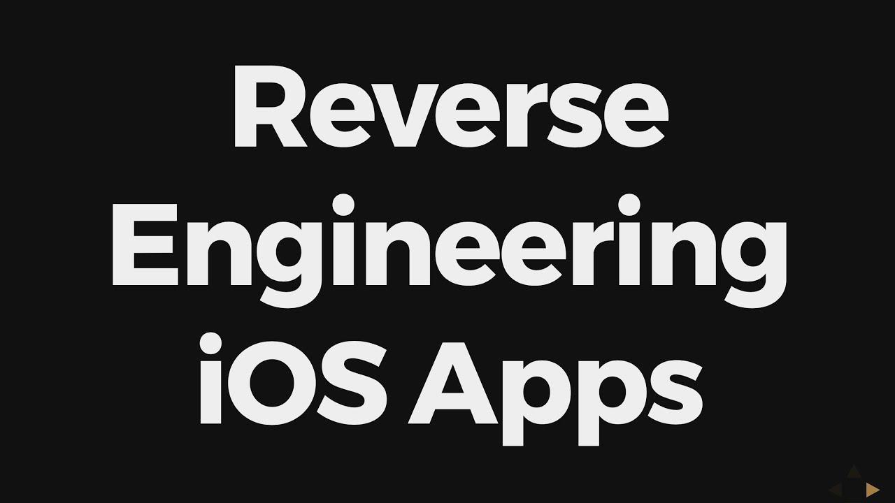Reverse Engineering iOS Apps | blog kilian io