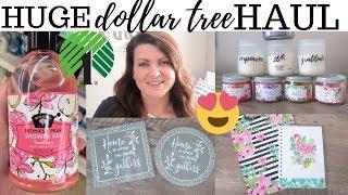 Huge Dollar Tree Haul $40+   April 2019