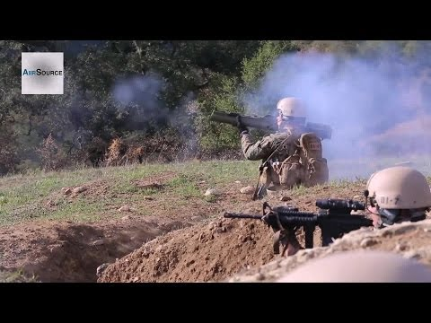US Marines 1st Reconnaissance Battalion Training Exercise