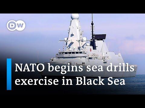 NATO and Ukraine launch joint Black Sea drills | DW News