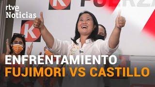 KEIKO FUJIMORI será la RIVAL de Pedro CASTILLO en la segunda vuelta de las ELECCIONES en Perú | RTVE
