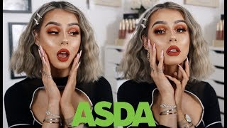 ASDA DOES MAKEUP...HOW GLAM CAN WE GO? | NOTHING OVER £6