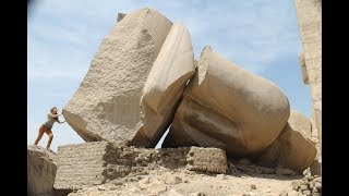 Huge Statues Near Luxor In Egypt: Show Signs Of Cataclysmic Damage