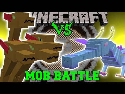 HYDRA VS WINDIGO & THE QUEEN - Minecraft Mob Battles - Minecraft Mods