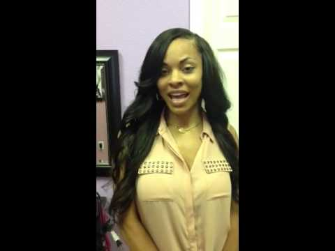 Side part sew in  YouTube - Cute Sew In Hairstyles