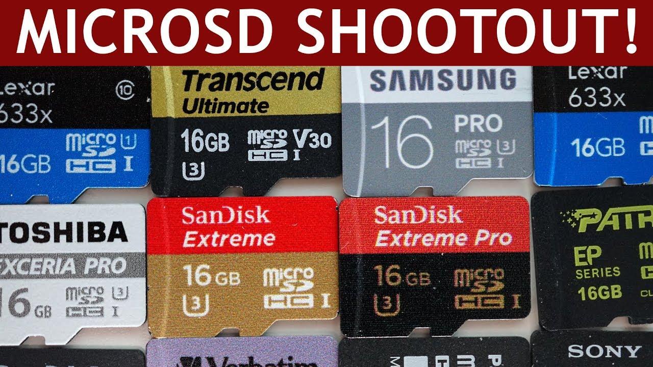Micro Sd Karte 128gb Test.Microsd Card Speed Test Marketing Vs Reality