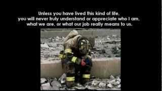 """I wish you could know"" Firefighter poem"