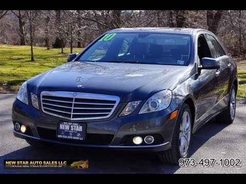 2010 Mercedes Benz E-Class  E350 4Matic Sedan