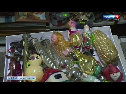 В Севастополе растёт спрос и цены на советские ёлочные игрушки