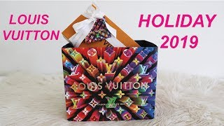 LOUIS VUITTON HOLIDAY 2019 UNBOXING