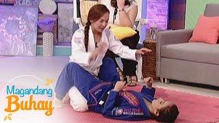 Magandang Buhay Basic jiu jitsu techniques from Cristine and
