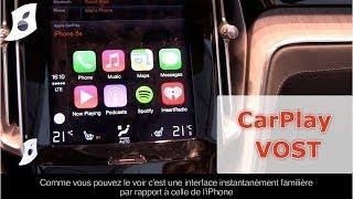 Démo complète de CarPlay au Salon de l'Auto de Genève