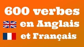 600 verbes utiles en Anglais et Français - Apprendre l'Anglais screenshot 4