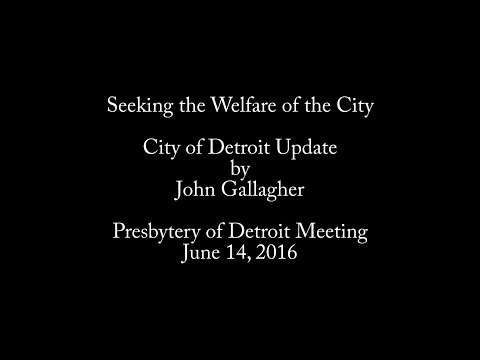 Detroit City Update