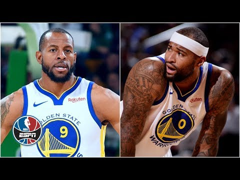 Is Andre Iguodala a better fit for Warriors than DeMarcus Cousins? | NBA Countdown thumbnail
