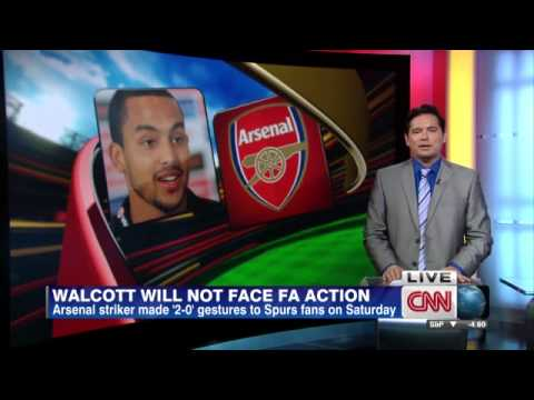 Arsenals Theo Walcott out with ACL injury