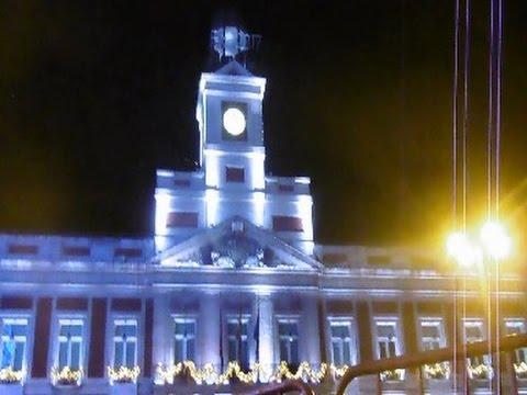 A o nuevo 2017 en la puerta del sol madrid nochevieja for Puerta del sol en nochevieja