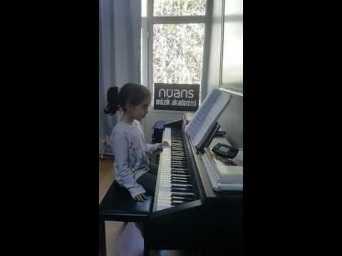 Nüans Müzikte piyano dersi