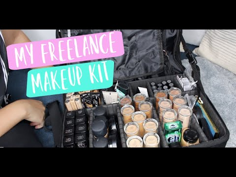 My Freelance Makeup Kit 2019 || peachmangopiee | MakeupByIca thumbnail