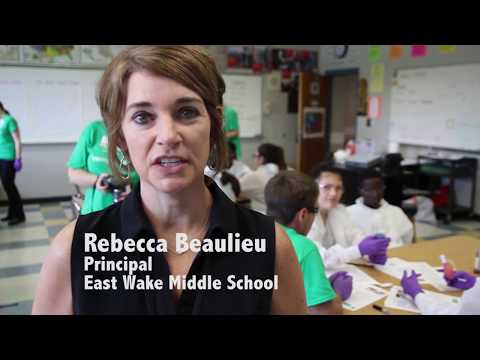 BASF Visits East Wake Middle School