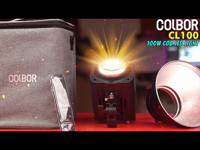 COLBOR CL100   100W Studio LED Light   BI Color Lighting   Cinematic Lighting