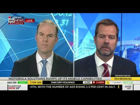 Sky News Technology Behind Business discusses AI and body worn video with Steve Crutchfield