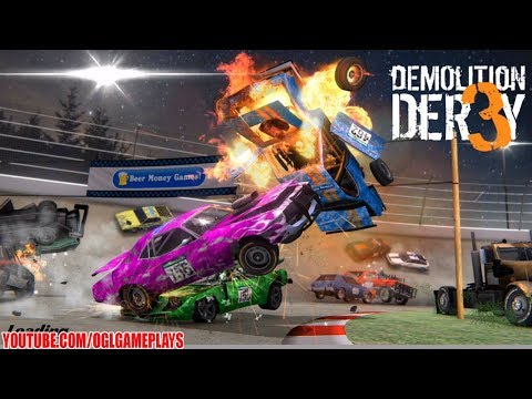 Demolition Derby 3 Android/iOS Gameplay