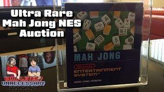 Ultra Rare Mah Jong NES Cart Auction - #CUPodcast