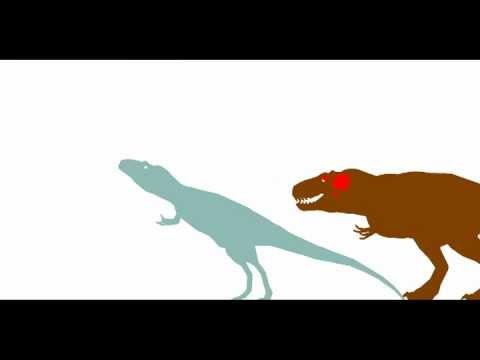 pdft-tyrannosaurus vs daspletosaurus (round 3 match 4)