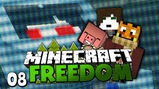 GermanLetsPlay's KRANKHEIT & PVP EVENT MIT ZUSCHAUERN! ✪ Minecraft FREEDOM #08