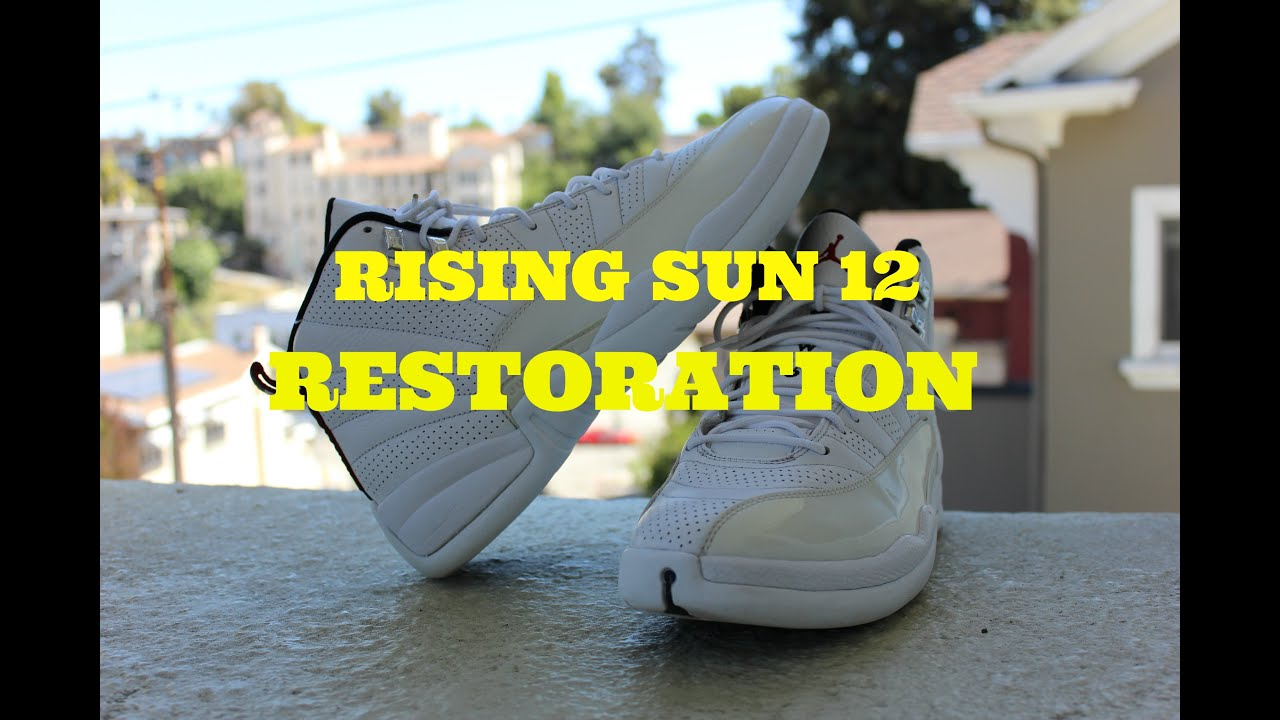 988eb0f897aa Unyellowing Rising Sun 12! Jordan Wong
