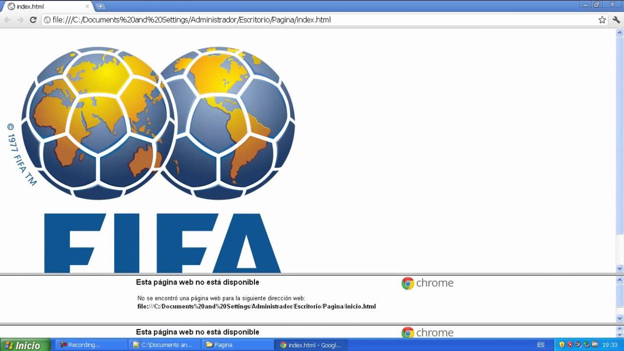 Crear una pagina web con marcos (frames) - Parte 1 - YouTube